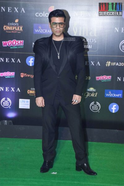 Karan Johar At The 20th 'IIFA Awards 2019' at NSCI, Dome In Mumbai