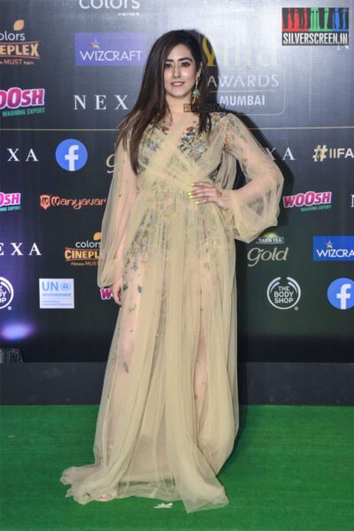 Jonita Gandhi At The 20th 'IIFA Awards 2019' at NSCI, Dome In Mumbai