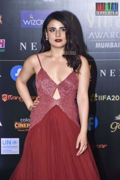 Radhika MAdan At The 20th 'IIFA Awards 2019' at NSCI, Dome In Mumbai