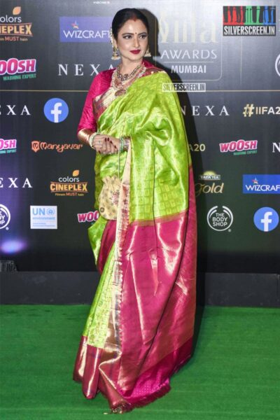 Rekha At The 20th 'IIFA Awards 2019' at NSCI, Dome In Mumbai