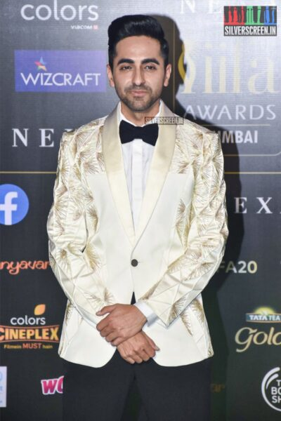 Ayushmann Khurrana At The 20th 'IIFA Awards 2019' at NSCI, Dome In Mumbai