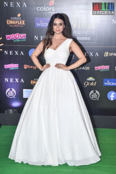 Soundarya Sharma At The 20th 'IIFA Awards 2019' at NSCI, Dome In Mumbai