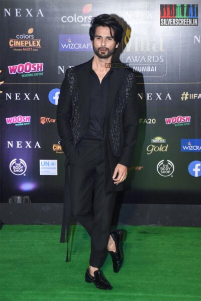 Shahid Kapoor At The 20th 'IIFA Awards 2019' at NSCI, Dome In Mumbai
