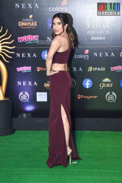 Sophie Choudry At The 20th 'IIFA Awards 2019' at NSCI, Dome In Mumbai