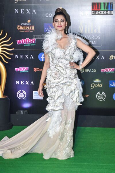 Urvashi Rautela At The 20th 'IIFA Awards 2019' at NSCI, Dome In Mumbai