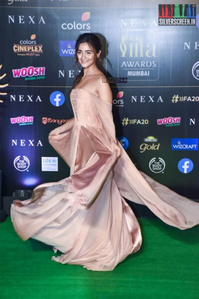 Alia Bhatt At The 20th 'IIFA Awards 2019' at NSCI, Dome In Mumbai