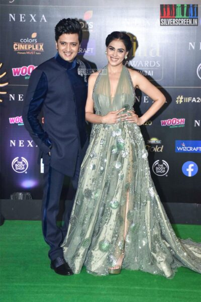 Genelia D'Souza At The 20th 'IIFA Awards 2019' at NSCI, Dome In Mumbai