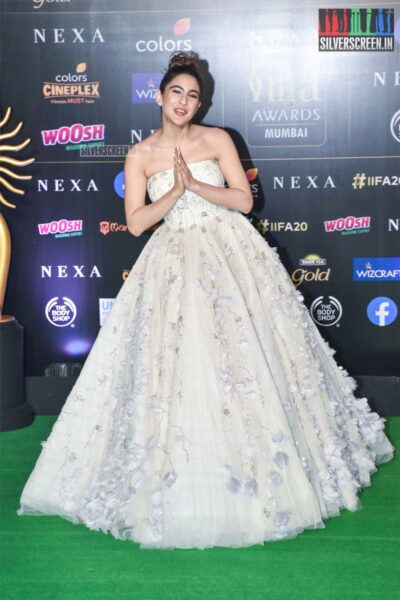 Sara Ali Khan At The 20th 'IIFA Awards 2019' at NSCI, Dome In Mumbai