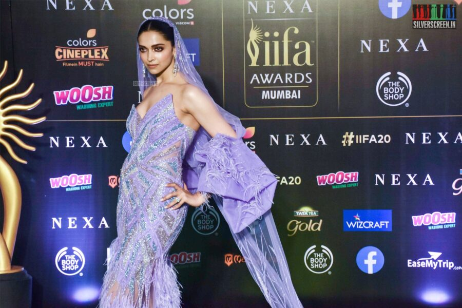 Deepika Padukone At The 20th 'IIFA Awards 2019' at NSCI, Dome In Mumbai