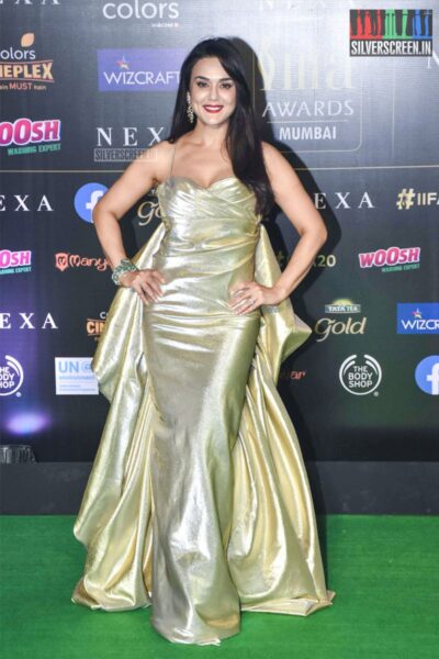 Preity Zinta At The 20th 'IIFA Awards 2019' at NSCI, Dome In Mumbai