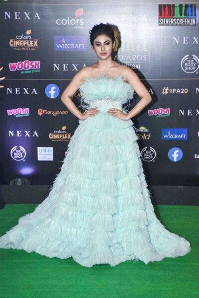 Mouni Roy At The 20th 'IIFA Awards 2019' at NSCI, Dome In Mumbai