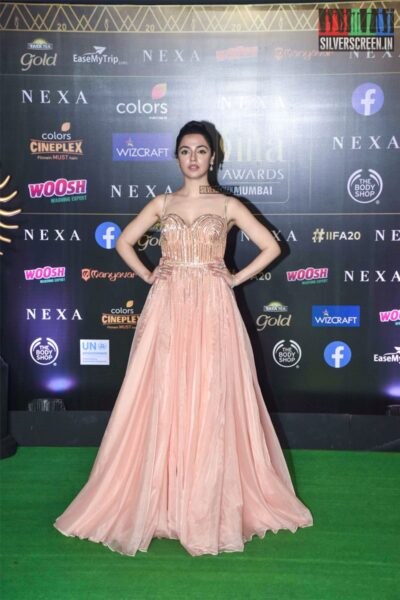 Divya Khosla Kumar At The 20th 'IIFA Awards 2019' at NSCI, Dome In Mumbai