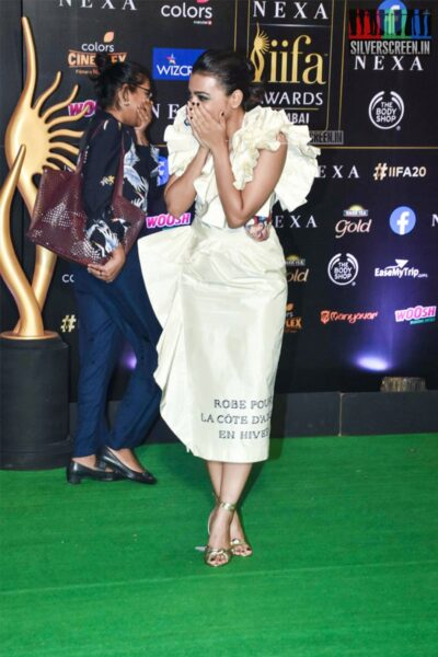 Radhika Apte At The 20th 'IIFA Awards 2019' at NSCI, Dome In Mumbai