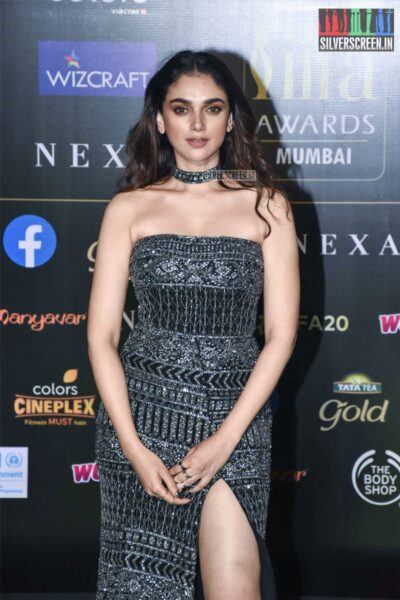 Aditi Rao Hydari At The 20th 'IIFA Awards 2019' at NSCI, Dome In Mumbai