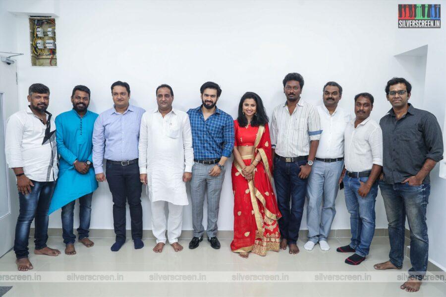 Guru Somasundaram, Anika Vikhraman At The 'Ikk' Movie Launch