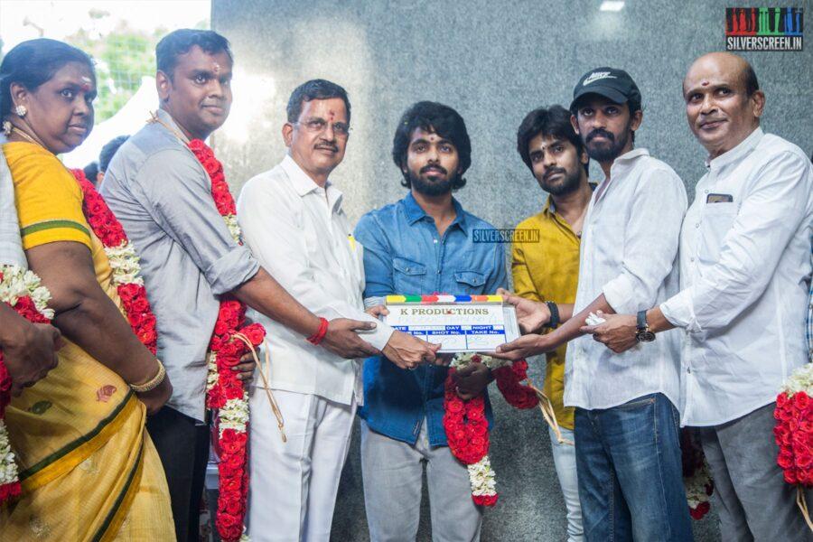 GV Prakash Kumar At K Productions' Production No.4 Movie Launch