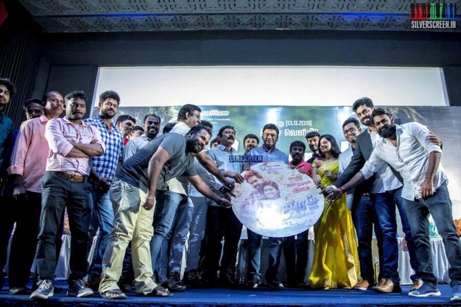 K Bhagyaraj At The 'Veerampuram 220' Audio Launch