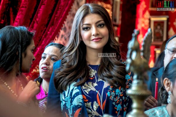 Kajal Aggarwal At The Bridal Story Wedding Exhibition