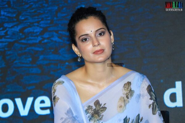 Kangana Ranaut At The 'Cauvery Calling' Press Meet