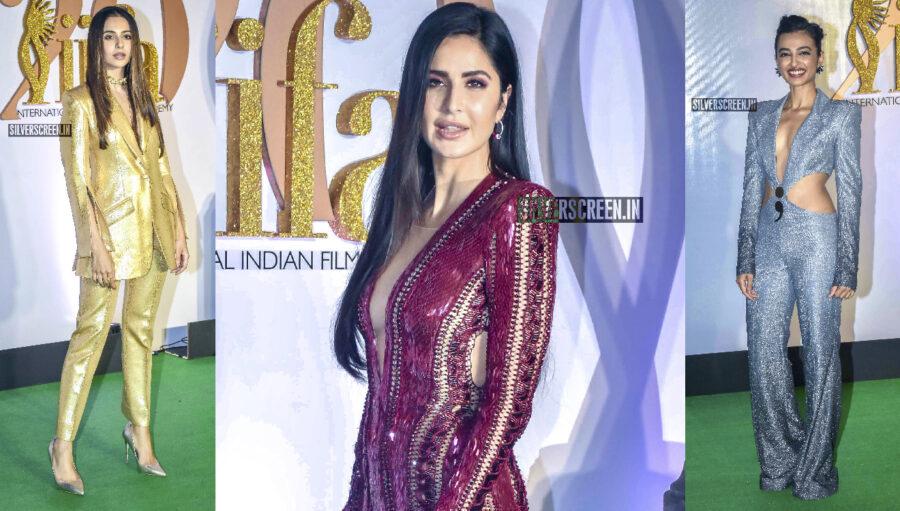 Celebrities At The Green Carpet Of 'IIFA Rocks 2019'