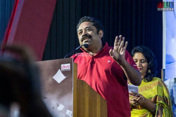 Seenu Ramasamy At The 'Padaippaalan' Audio Launch