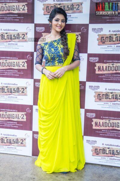 Athulya Ravi At The 'Nadodigal 2' Press Meet