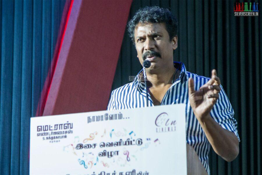 Samuthirakani At The 'Nadodigal 2' Press Meet