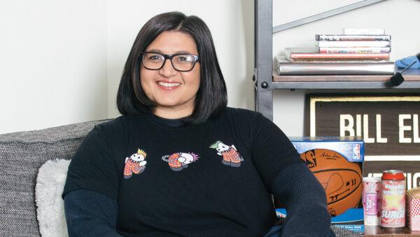 Nahnatchka Khan portrait.