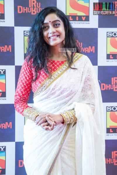 Abhirami Iyer At The Launch Of 'Iru Dhuruvam' Web Series