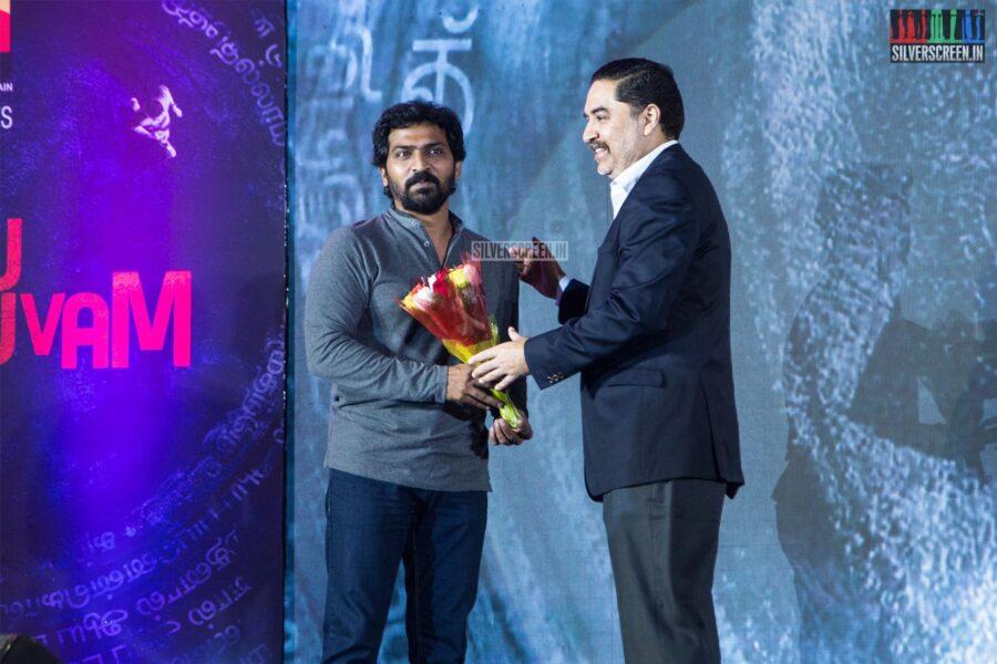Vaibhav At The Launch Of 'Iru Dhuruvam' Web Series