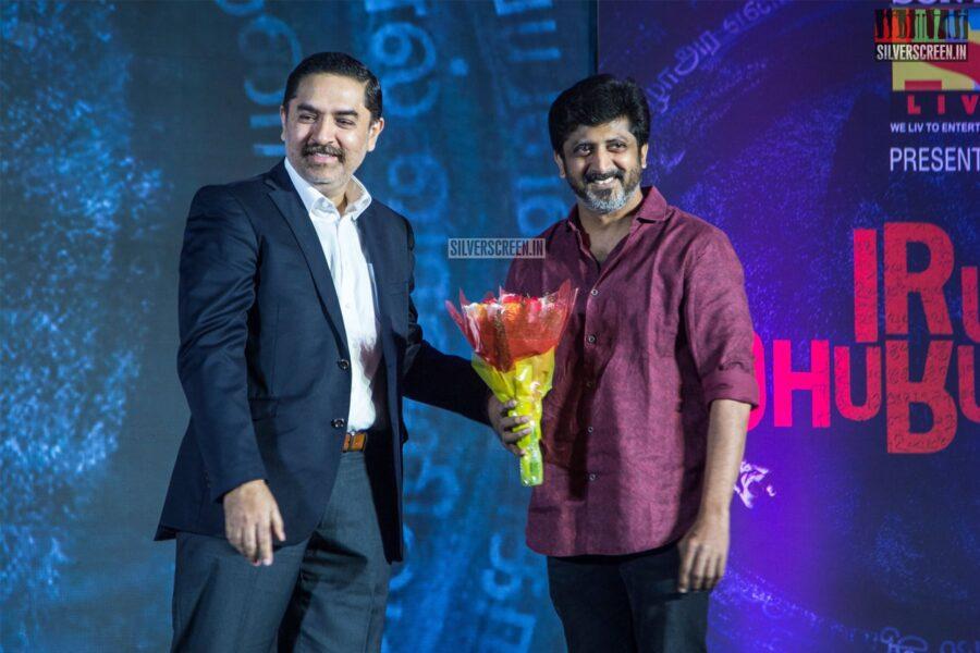 Jayam Raja At The Launch Of 'Iru Dhuruvam' Web Series
