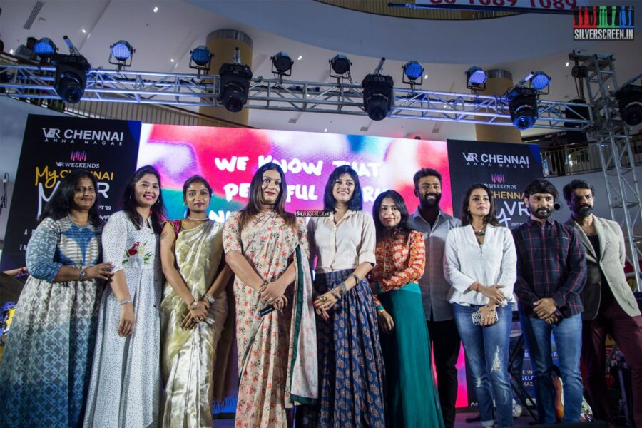 Oviya, Snehan At VR Weekends In Aid Of The Fight Against Hunger