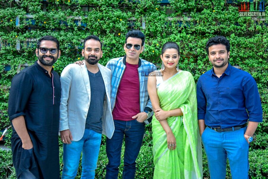 Priya Mani, Manoj Bajpayee Promote 'The Family Man'