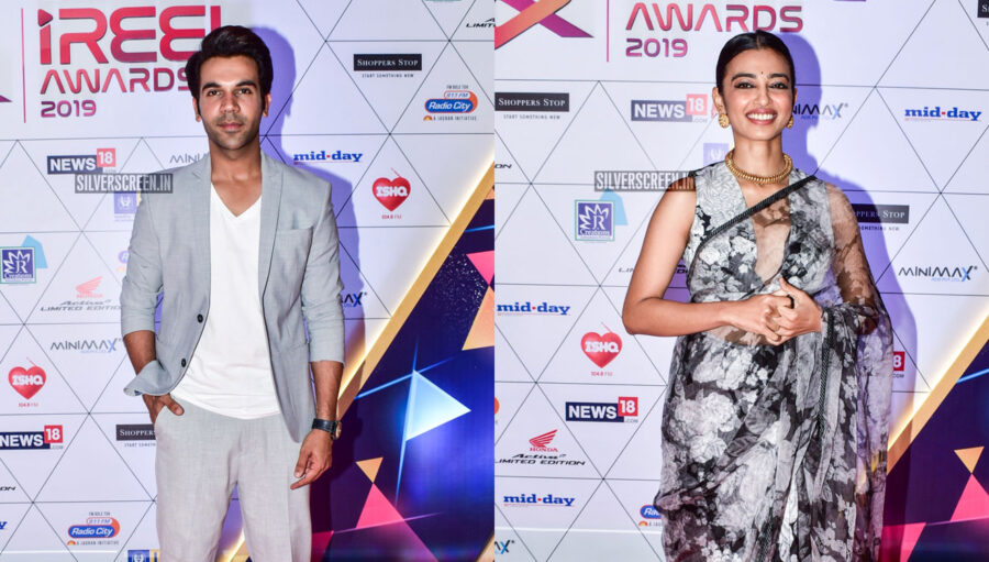 Radhika Apte, Rajkummar Rao At The 'I Reel Awards 2019'
