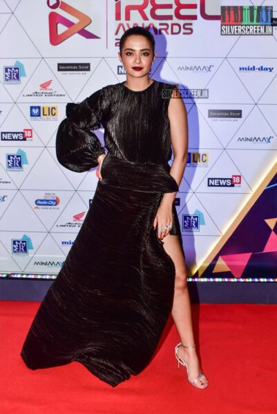 Surveen Chawla At The 'I Reel Awards 2019'