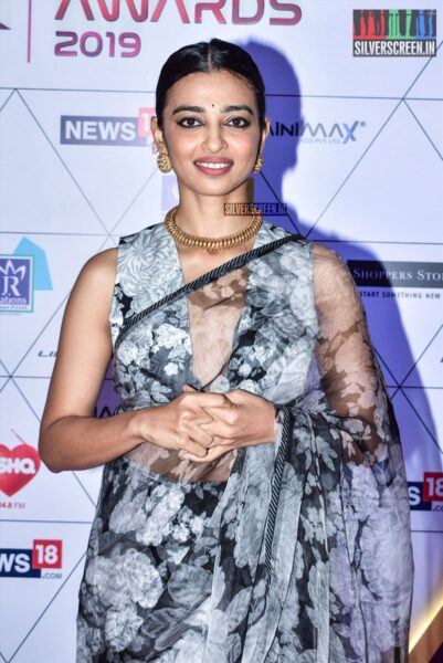 Radhika Apte At The 'I Reel Awards 2019'