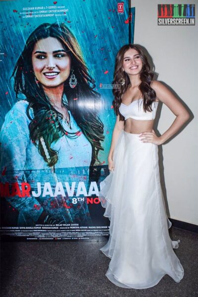 Tara Sharma At The 'Marjaavaan' Trailer Launch
