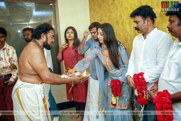 Sanjjanaa Galrani At Super Talkies And Avatar Productions Untitled Movie Launch