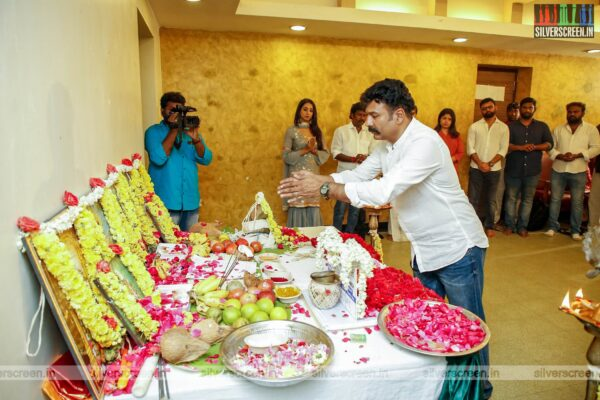 Celebrities At Super Talkies And Avatar Productions Untitled Movie Launch