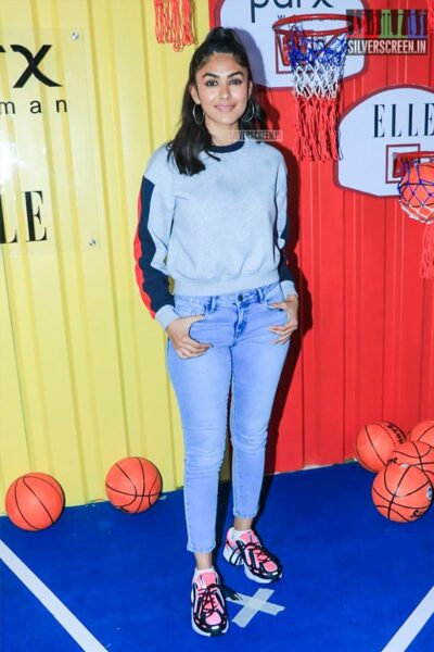 Mrunal Thakur At The Launch Of 'The Winter Games' Collection