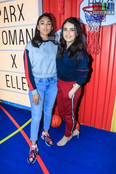 Mrunal Thakur, Radhika Madan At The Launch Of 'The Winter Games' Collection