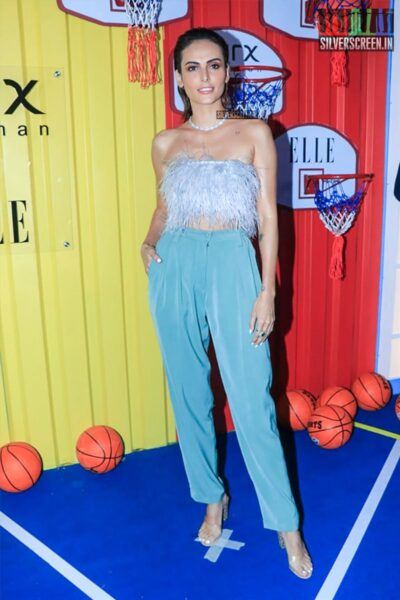 Mandana Karimi At The Launch Of 'The Winter Games' Collection