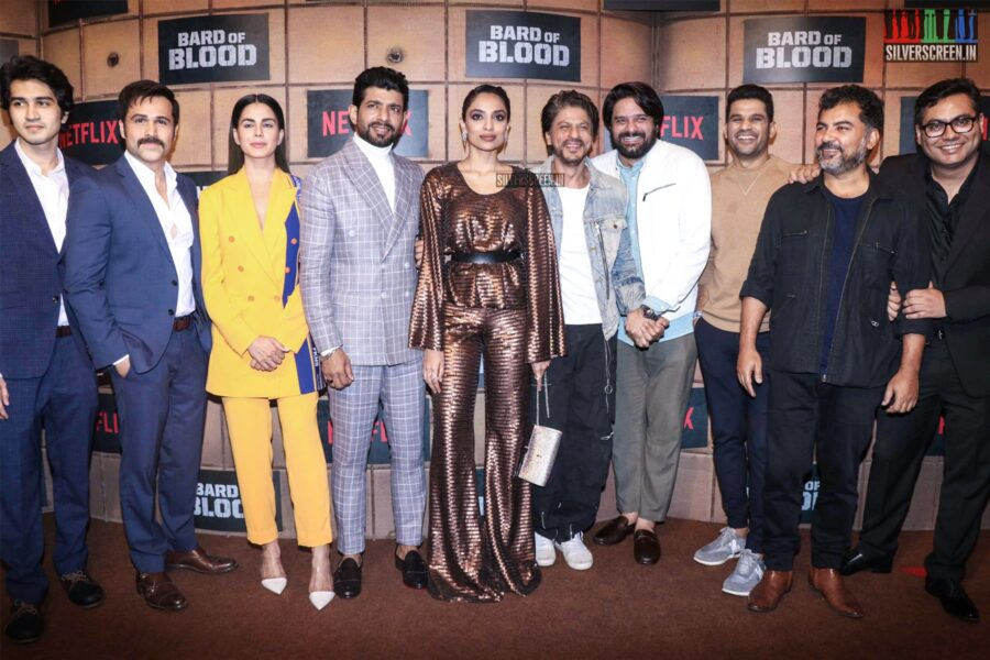 Kirti Kulhari, Sobhita Dhulipala, Emraan Hashmi, Shah Rukh Khan At The 'Bard Of Blood' Premiere