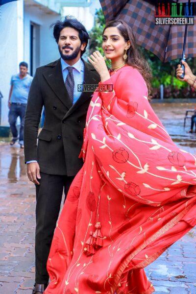 Sonam Kapoor, Dulquer Salmaan Promote 'The Zoya Factor' On The Sets Of Dance India Dance