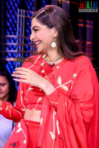 Sonam Kapoor Promotes 'The Zoya Factor' On The Sets Of Dance India Dance