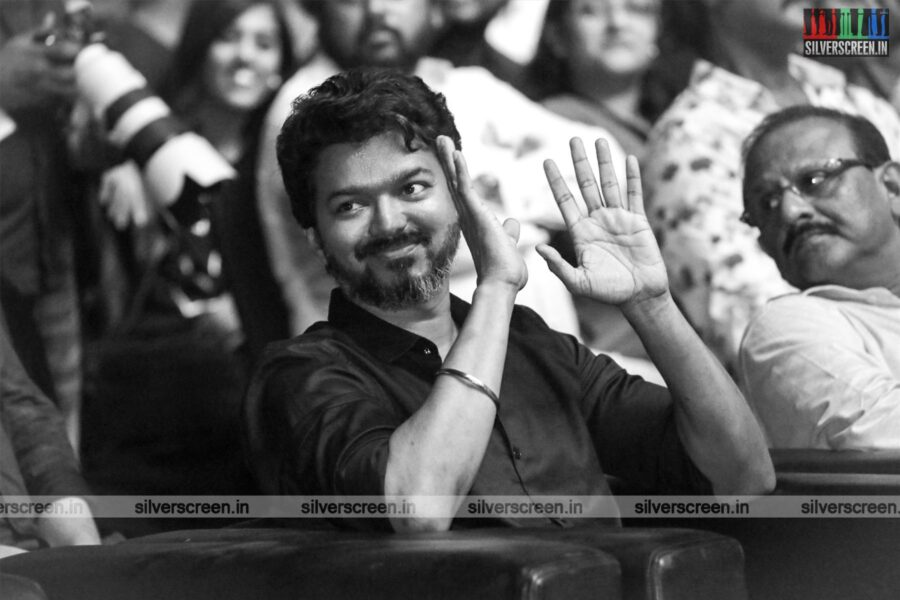 Vijay At The 'Bigil' Audio Launch