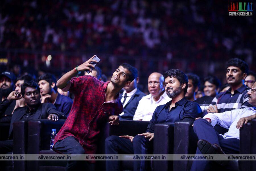 Vijay At The 'Bigil' Audio Launch