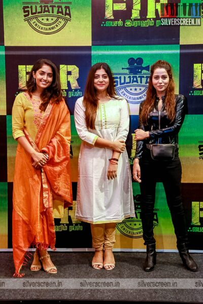 Manjima Mohan, Raiza Wilson At The 'FIR' Movie Launch