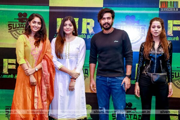 Manjima Mohan, Vishnu Vishal, Raiza Wilson At The 'FIR' Movie Launch