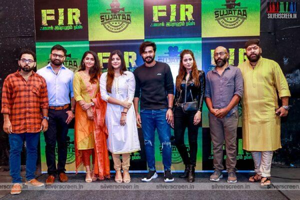 Manjima Mohan, Vishnu Vishal, Raiza Wilson At The 'FIR' Movie Launch